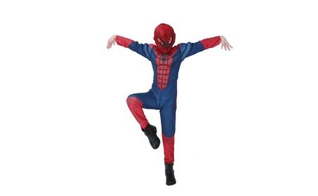 Halloween Children Spiderman Bodysuit Hat Costumes Set a9852cde-8ea7-4053-a135-a42f03f8a071
