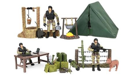 Click N Play Military Campsite 35 Piece Play Set 5e60eb8c-9a62-43a3-ad18-49e698bbf6ed