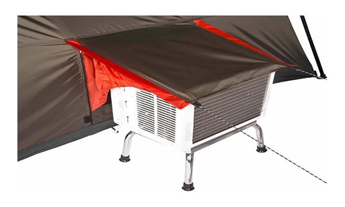 Ozark Trail Cabin Tent & Ozark Trail 16x16 Instant Cabin