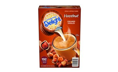 International Delight Hazelnut Liquid Creamer, 192-Count Single-Serve 435e23bd-de5c-421f-ae56-0064d8932fac