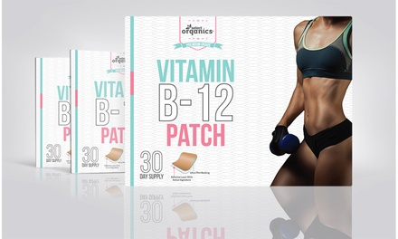 Select Organics Vitamin B-12 Patches (30- 60- or 90 Day Supply)