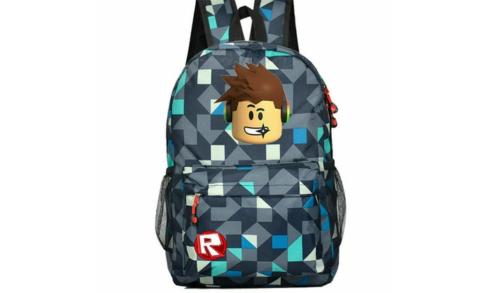 Roblox Backpack Kid School Bag Students Boy Bookbag Handbags Travelbag Game Girl