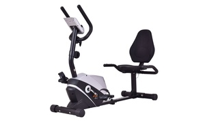 Exercise Bike Stationary Bicycle Magnet Cardio Workout Fitness