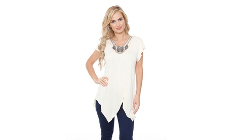 Grace Embellished Top/Tunic 03fdc090-5723-4cc6-8a49-7121aeb0e5e6