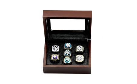 MLB One set 7PCS New York Yankees Championship Ring a3bb0292-5246-4f88-b406-17da3322dcd7