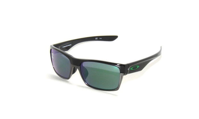 c77d81e9ed2 Oakley Twofaces Asian Fit OO9256-03 Black Frame   Jade Iridium Lenses