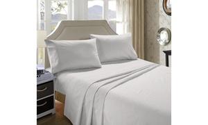 Dream castle 1000 Thread Count 4 PC 100 % Cotton Sateen sheet set
