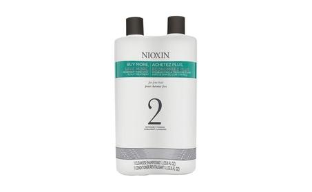 Nioxin System 2 Cleanser & Scalp Therapy 33.8 oz fef0fe9a-5741-4cf7-b2ce-12fdcaf60b73