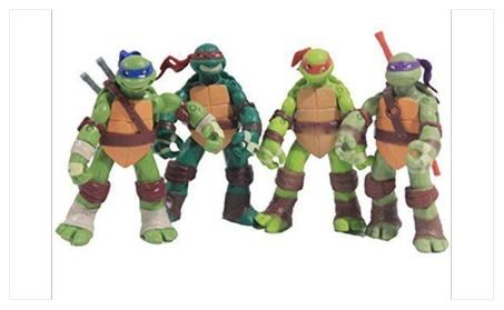 4 PCS Lot Teenage Mutant Ninja Turtles Action Figures 6405ba9e-407f-42ca-a3d7-8348887ea607