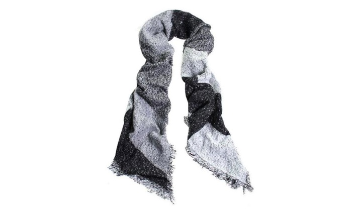 Women's Lightweight Woven Graphic Fashion Scarf