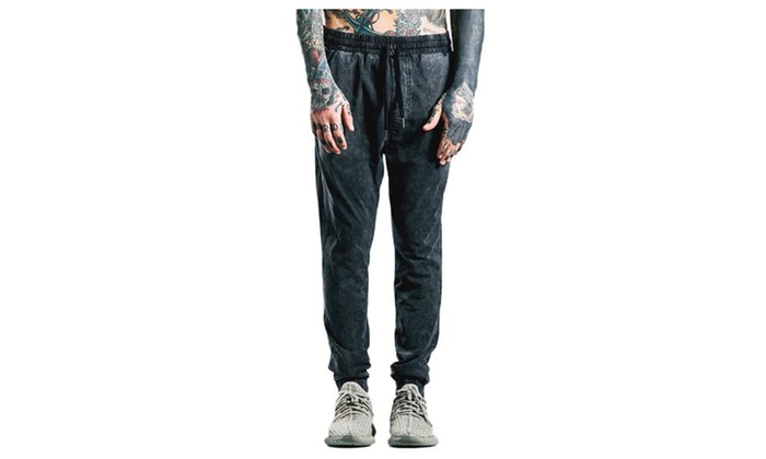 Men's Simple Mid Rise Fashion Solid Casual Pants