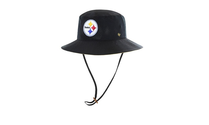 buy online 6a185 42a05 Pittsburgh Steelers Panama Pail Bucket Hat