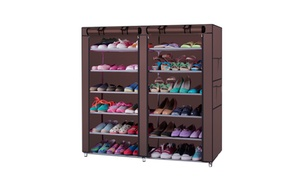 6-Tier Shoe Storage Rack - Holds up to 36 Pairs