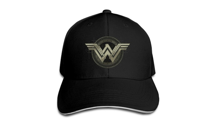 Unisex Wonder Woman Batman Vs Superman Movie Emblem Baseball Cap