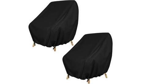2 Pack Patio Chair Covers Heavy Duty Outdoor Furniture Covers Lounge Chair Cover