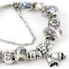Girl's Fashion Love Heart Elements Crystal Bracelet Jewelry Gift
