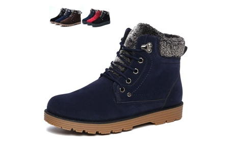 Men's warm cotton shoes snow boots thick warm cotton shoes c346f83f-a102-45b9-97b7-fa10e1bab762