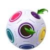 Kids' Plastic Cube Twist Puzzle Rainbow Magic Ball