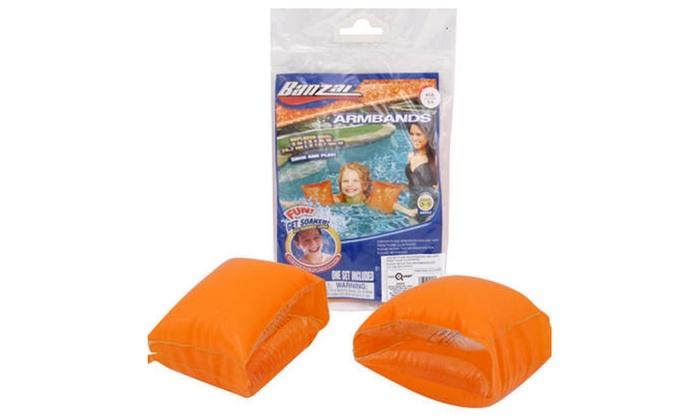 Banzai Inflatable Armband 2-pack