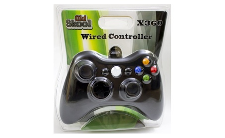 Wired USB Controller for PC & XBOX 360 -black 64ebedd4-aa46-4af2-b0cb-8f767740d47d