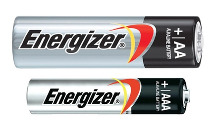 Energizer 100 pack combination pack AA (50)& AAA (50) Batteries