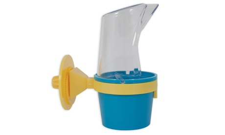 JW Pet Clean Cup Bird Feed & Water Cup, Color May Vary e13bf664-86ca-4496-aca7-358ea8b4aa44