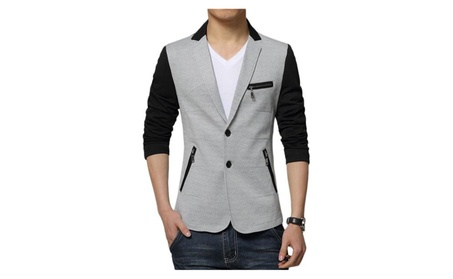 Men's Blazer Jacket Twill Two Button New Men's Sport Coat 788a8aab-9a49-46dd-aee5-f7ac4ef2e9bb