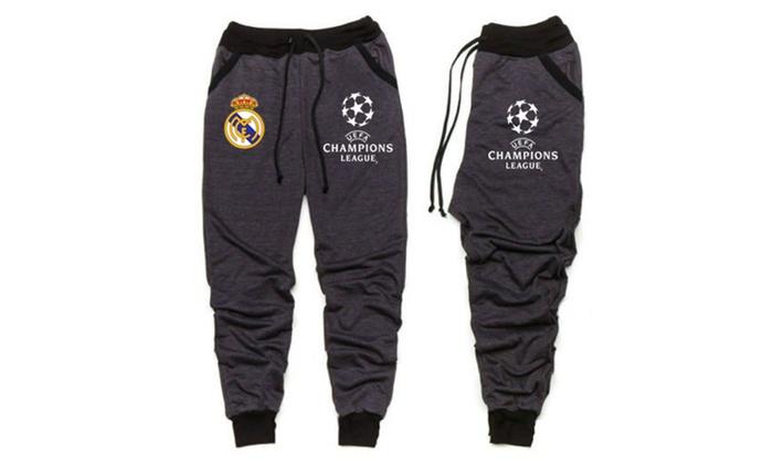 Real madrid champions league joggers sweat pants sudadera all sizes