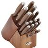 Anolon SureGrip Cutlery 17pc. Knife Block Set, Bronze