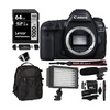 Canon EOS 5D Mark IV 30.4MP Full Frame DSLR with Accessories