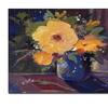Sheila Golden 'Carnivale' Canvas Art