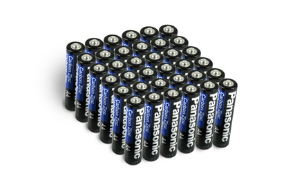 Panasonic AA Batteries Heavy Duty AA-AAA (48 Pack) Was: $29.99 Now: $14.94.