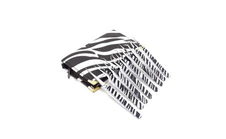 8 Piece Stainless Steel Zebra Fine Point Eyelash Extension Tweezers 89ffe133-d92e-42b9-8d02-dda8cd9721f8