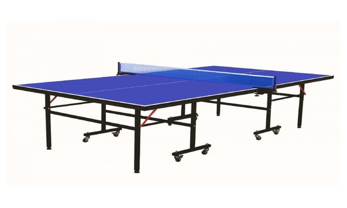 Professional Grade Folding Ping Pong Table Tennis Table and Net Set  sc 1 st  Groupon & Professional Grade Folding Ping Pong Table Tennis Table and Net Set ...