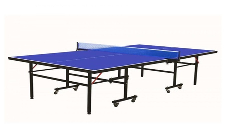 Professional Grade Folding Ping Pong Table Tennis Table and Net Set 22007935-3f70-4cf7-8de2-e4a89c7a3163