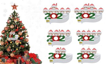 Quarantine Family 2020 Christmas Ornament Personalized Xmas Gifts