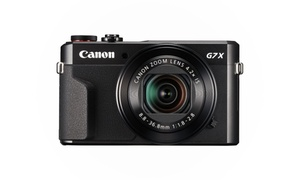 Canon PowerShot G7 X Mark II 20.1 MP Digital Camera (Black)