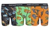 Fruit of the Loom 3 Pack Boys' Assorted Color Boxer Brief