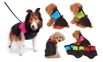 Shop Groupon Waterproof Pet Dog Clothes Winter Warm Padded Coat Vest  Snowsuit Jacket 7 Sizes e75713d06