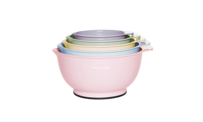 Kitchenaid Mix Bowls Set 5 Pack Groupon