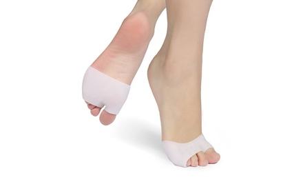 Gel Metatarsal Pads Half-Toe Sleeves (2-Pack)