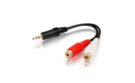 Comprehensive Stereo 3.5mm Plug to Two RCA Jacks Audio Adapter Cable 164a43eb-83cf-46ed-82b5-8449675e517f