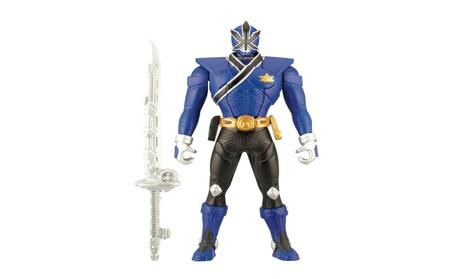 "Power Rangers Samurai Blue 6.5"" Morphin Action Ranger c78595eb-6454-4579-882c-b44a36e5b79c"