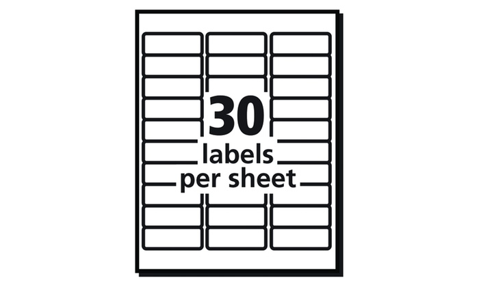 dennison labels templates - avery dennison shipping labels with trueblock technology