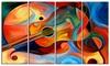 Music and Rhythm - Abstract Metal Wall Art