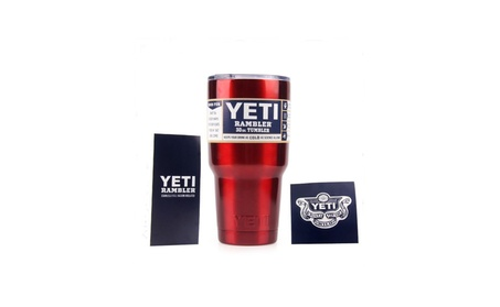 YETI 30 oz in New Metallic Red! Free Stainless Steel Straw Included! 4182ab1e-0fad-4e65-a68d-6c1ca94af0d3