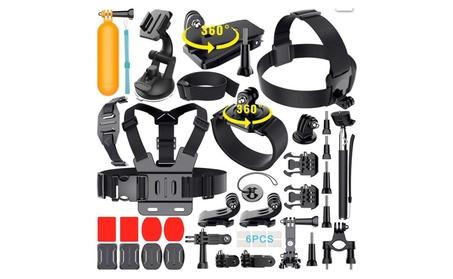 35 in1 Mount Kit Set Floating Monopod Accessories GoPro Sport Camera f052d1e7-a1c6-463f-9d89-162cc50ca7fa