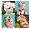 Shabby Chic Soft Cotton Stretch Floral Headbands