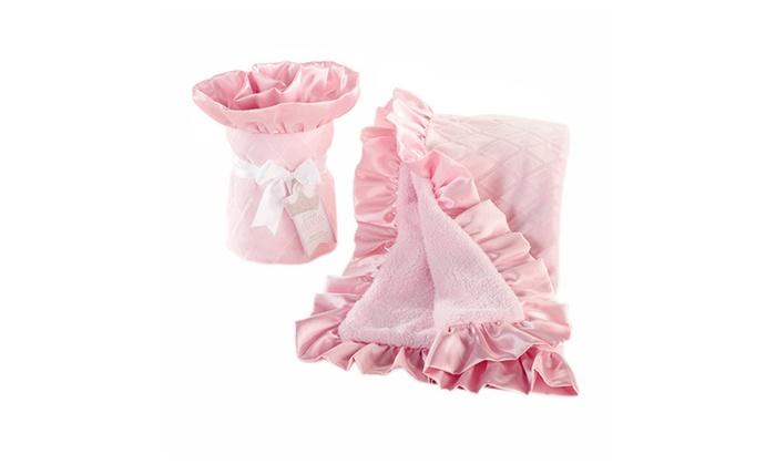 Babyaspen Kids Toddler Bedtime Little Princess Blanket
