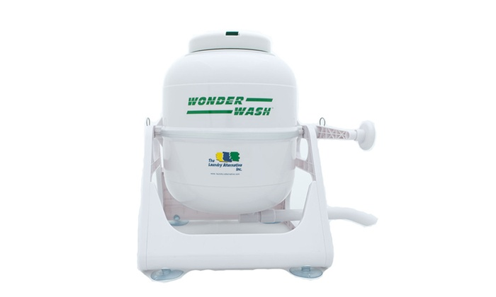 Wonderwash Non-electric Portable Compact Camping Mini